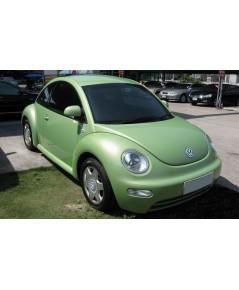 .ขายรถยนต์ VOLKSWAGEN NEW BEETLE 2.0i ปี 2001 สีเขียว เกียร์ออโต้ 4AIRBAG เบาะหนังใช้น้อย$A04-P6NI