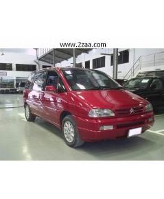 .ขาย รถMPVมือสอง ปี 2002 CITROEN EVASION 2.0i 8ที่นั่ง สีแดง ออโต้ 2AIRBAG ประตูสไลด์ 2ข้าง$A03-P6IP