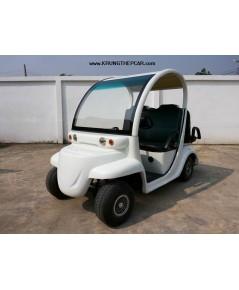.ขาย รถกอล์ฟ ไฟฟ้า 4ที่นั่ง มีไฟหน้า สภาพสวย ไม่มีแตกหัก ขายรถกล๊อฟไฟฟ้า มือสอง $S5T