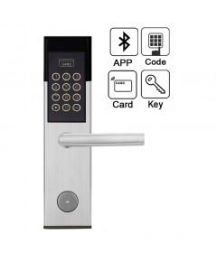 กลอนประตูดิจิตอลล็อกเปิดประตูด้วย APP โทรศัพท์มือถือรหัสผ่าน Digital door lock