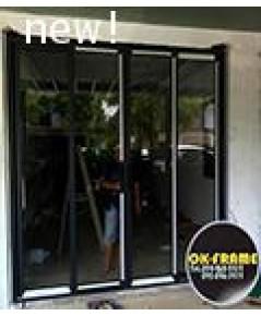 บานเลื่อน  หน้าต่าง ประตู