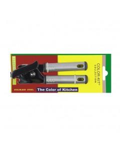 Color Kit  ที่เปิดกระป๋องหมุนด้ามแบน รุ่น 3026 6 ชิ้น