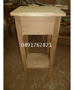 โต๊ะวางของไม้สัก2