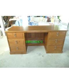 โต๊ะทำงานไม้สัก2