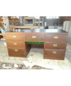 โต๊ะทำงานไม้สัก3