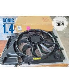 พัดลมหม้อน้ำ sonic 1.4 แท้ GM