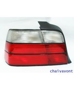 ไฟท้ายขาวแดง Depo ด้านซ้าย รถบีเอ็มดับบลิว BMW E36 316i 318i 320i 325i 328i M40 M43 M50 M52 Series 3