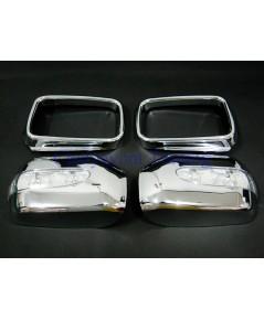 ประดับยนต์ชุดแต่งรถ ครอบมองข้างไฟ LED โครเมี่ยม รถบีเอ็มดับบลิว BMW E36 318i 320i 325i 328i M40 M43