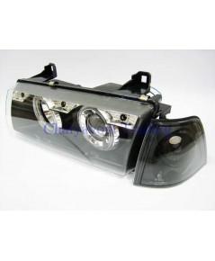 ชุดแต่งรถไฟหน้าวงแหวน CCFL Projector รถบีเอ็ม BMW E36 316i 318i 320i 325i  M40 M43 M50 Series 3