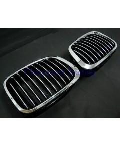 ประดับยนต์ชุดแต่งรถ กระจังหน้ารถบีเอ็มขอบโครเมี่ยม BMW E46 รุ่นก่อนปี 2000 316i 318i 320d 323i 328i