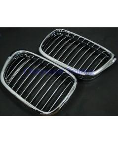 ประดับยนต์ชุดแต่งรถ กระจังหน้ารถบีเอ็มขอบโครเมี่ยม BMW E39 ซีรีย์ 5 520d 520i 523i 525d 525i 528i 5