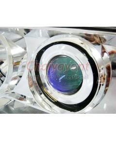 ประดับยนต์ชุดแต่งรถ ไฟหน้า LH Clear Crystal Projector W124 200E 230E 300E 320E 400E 500E E-Class
