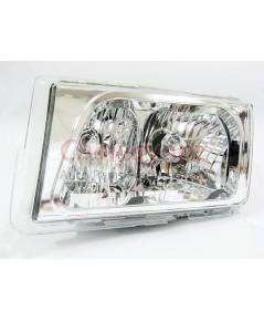 ไฟหน้าคริสตัลใส LH Clear Type White Chrome สำหรับรถเบนซ์ Mercedes-Benz W201190 190D 190E 1.8 2.0 2.3