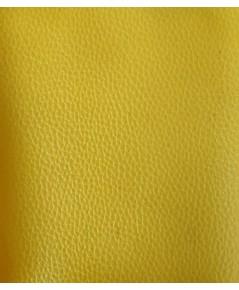 ตัวอย่าง สี หนังและลายหนัง สีเหลือง (CODE สี217)