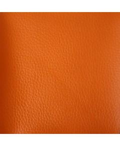 ตัวอย่าง สี หนังและลายหนัง สีส้ม (CODE สี329)