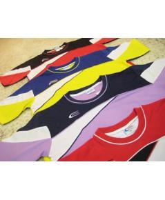 [โปรโมชั่น] เสื้อกีฬา ABBA - BOOMBRIM ,คอปกราคาถูก