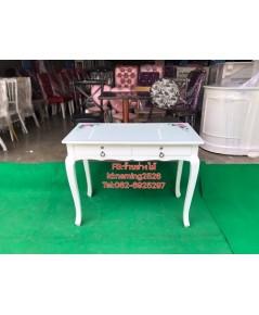 โต๊ะเพ้นเล็บ โต๊ะทำเล็บเจล สไตล์วินเทจ โต๊ะเอนกประสงค์  เฟอร์นิเจอร์ร้านเพ้นท์เล็บราคาถูกจากโรงงาน