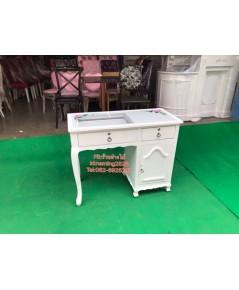 โต๊ะทำเล็บเจล โต๊ะเพ้นท์เล็บ โต๊ะทำงานสไตล์วินเทจ โต๊ะเอนกประสงค์ ราคาถูกจากโรงงาน