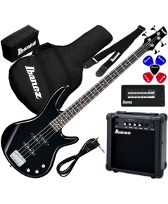 Ibanez GSR190JU-BK Electric Bass Guitar Jumpstart Set
