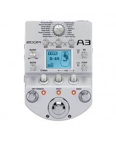 ZOOM A3 ACOUSTIC EFFECT