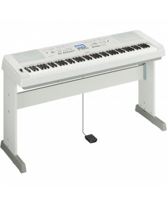Yamaha เปียโนไฟฟ้า รุ่น DGX-650 WH