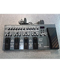 Boss Me80 เอฟเฟ็คมัลติมือสอง พร้อมหม้อแปลงของ Boss สินค้ามีตำหนิเลขลวนบางฟังชั่น แตใช้ได้ครบทุกเสียง