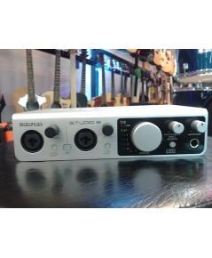 Midiplus Studio 2 Audio Interface ที่มาแรงสุดๆ ในตอนนี้่ ราคาถูก ฟังชั่นปรับละเอียด คุณภาพดีสวยงาม