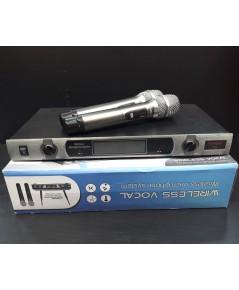 YUGO T2 ไมโครโฟนไร้สายแบบคู่ คลื่นUHF มือสองมีตำหนิไมค์ลอย Ch2 ใช้งานไม่ได้ Ch1 ใช้งานได้ปกติเสียงดี
