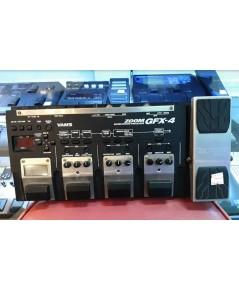 ZOOM GFX-4 เอฟเฟ็คกีต้าร์ไฟฟ้ามือสองจาก Japan เสียงมีให้ครบครันใช้งานง่าย พร้อมมีศูนย์ซ่อมหลังการขาย