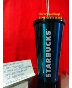ขายสตาร์บัคอเมริกาStarbucks Cold Cup USAมาใหม่ล่าสุดStainless Steel Cold Cup Gradient Rainbow16Oz