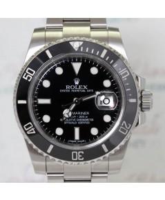 Rolex Submariner Ceramic 116610 หน้าปัดดำตัวเรือน stainless steel