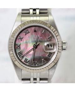 Rolex DateJust Lady Size 79174 หน้าปัดมุกไฟเลขโรมันเรือน Steel