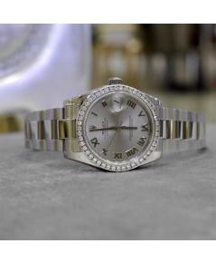 Rolex DateJust Boy Size 31mm หน้าปัดเทาโรมัน