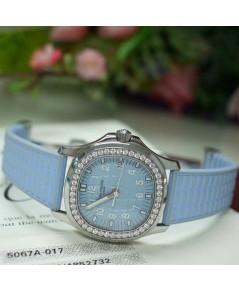 นาฬิกามือสอง patek philippe 5067a-017 สีฟ้า สภาพสวยมากครับ