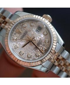 Rolex DateJust 179171 Lady Sizeหน้าคอมพิ้งเพชร