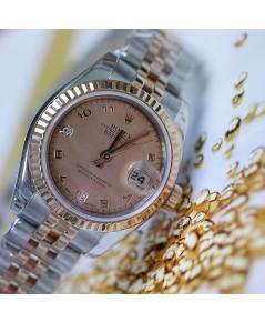 Rolex DateJust 179171 Lady Sizeหน้ามุก ฝังเพชร2ลูก