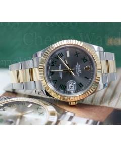 นาฬิกามือสอง rolex datejust II  116333 หน้าปัดเทาโรมัน