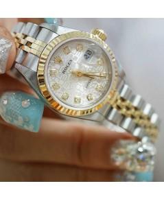 นาฬิกามือสอง Rolex69173 DateJust 26มิล หน้าปัดคอมบรอนซ์พชร