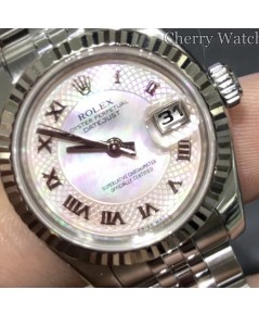 Rolex DateJust 179174 Lady Sizeหน้ามุกเลขโรมัน