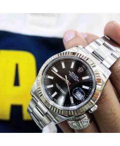 นาฬิกามือสอง rolex datejust II 41mm 116334 หน้าดำ