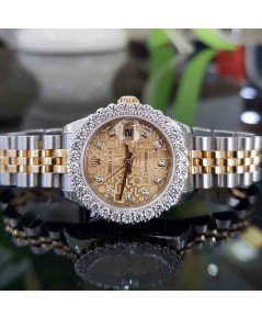 Rolex DateJust 179173 Lady Sizeหน้าคอมเพชร