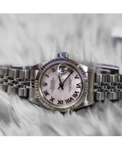Rolex DateJust 79174 Lady Sizeหน้ามุกขาวโรมัน