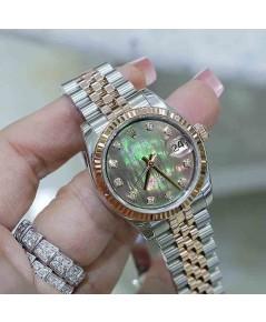 Rolex DateJust 178271 Boy Size 31mm หน้ามุกเซาซีเพชร