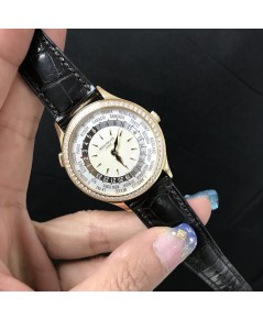 Patek Philippe 7130R-011 Ladies Complications World Time Rose Gold