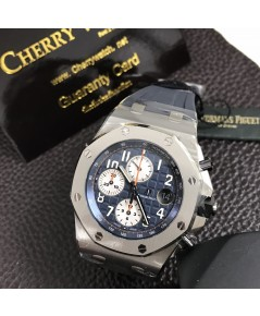 Audemars Piguet Oak Offshore Chronograph26470STNavy Blue Rubber