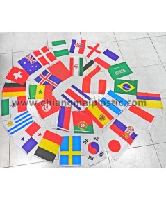 ธงฟุตบอลโลก 2018 ความยาว 24 เมตร แบบแขวน