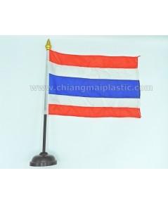 ธงชาติไทยตั้งโต๊ะ ขนาด 38 cm.