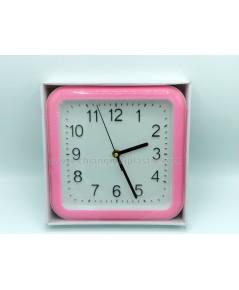 นาฬิกาแขวนทรงสี่เหลี่ยม ขนาด 20 x 20 cm.