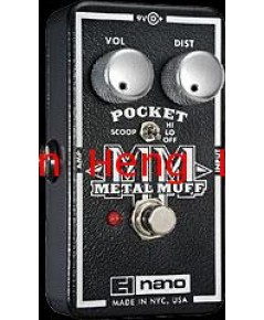 Electro Harmonix Pocket Metal Muff (Distortion with mid scoop)