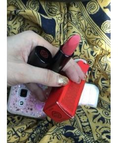 ลิปสติกแท้ พิกเมนท์แน่น Shiseido Rouge Rouge  โทนชมพูพร้อมกล่อง ตัวดัง หนึ่งในสีขายดีของแบรนด์เลยจ้า